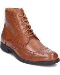 Gino Rossi - Chuck Men's Mid Boots In Brown - Lyst