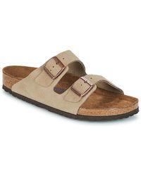 Birkenstock Slippers Arizona Sfb - Grijs