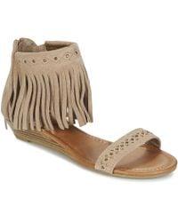Minnetonka - Savona Women's Sandals In Brown - Lyst