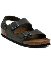 Birkenstock - Milano Smaragdrun Men's Sandals In Multicolour - Lyst