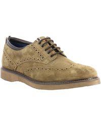 Wrangler Zapatos Hombre CROSSFIELD BROGUE SUEDE - Neutro