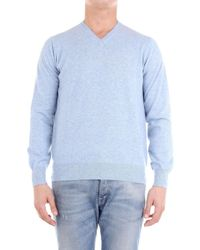 Cruciani MAILLE HOMME Pull - Bleu