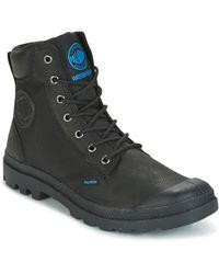 Palladium - SPOR CUF WPN femmes Boots en Noir - Lyst
