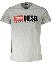 DIESEL T-shirt S1DF T-DIEGO - Gris