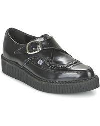 T.U.K. Nette Schoenen Pointed Creepers - Zwart