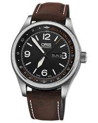 Oris 0173577284084-Set LS, Automatic, 44mm, 3ATM Montre - Métallisé