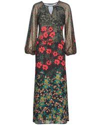 Sisley FASIN femmes Robe en Multicolor - Multicolore