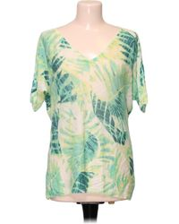 Monsoon Top manches courtes - Taille 42 Blouses - Gris