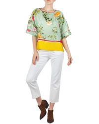 Department 5 DP591 Jeans 3/4 & 7/8 - Blanc