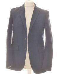 Mango Veste De Costume 38 - T2 - M Vestes de costume - Bleu