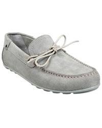 Geox Mocassin U Giona D Lake hommes Chaussures en Gris