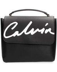 Calvin Klein K60k606571 Dculpted Flap Backpack Women Black Handbags
