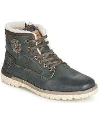 Mustang 4092602-259 Mid Boots - Grey