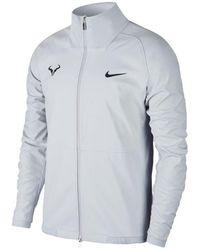 Nike Trainingsjack Rafa Nadal Court Jacket - Wit