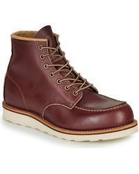 Red Wing Botines CLASSIC - Rojo