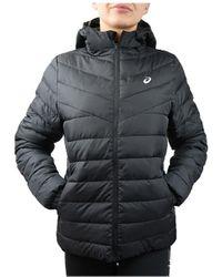 Asics W Padded Jacket Doudounes - Noir