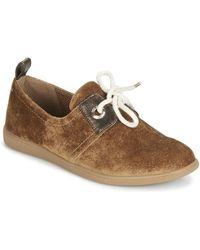 Armistice Lage Sneakers Stone One - Bruin