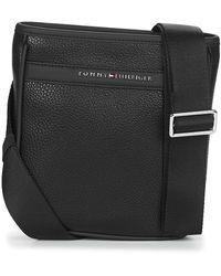 Tommy Hilfiger Handtasje Th Business Mini Crossover - Zwart