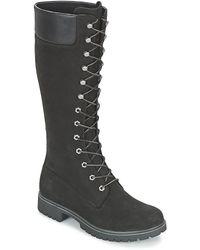 Timberland Premium FTW_ Premium 14in WP Boot - Botas con Forro para Mujer - Negro