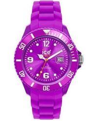 Ice-watch Armbanduhr UR - SI.PE.B.S.09 - Lila