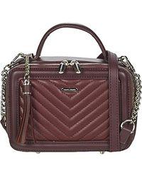 David Jones Handtasche 6400-2 - Lila