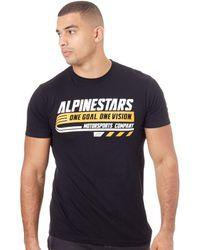 Alpinestars Black Bravo T-shirt T Shirt