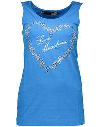Love Moschino W 4 E21 06 E 1257 - Blu