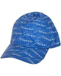 Armani Jeans Casquette Casquette - Bleu