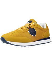 Ralph Lauren Lage Sneakers Nobil4116s1 - Geel