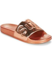 Superga 1908 Pune Tu Women's Mules / Casual Shoes In Pink