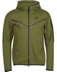 Nike Trainingsjacken SPORTSWEAR TECH FLEECE - Grün