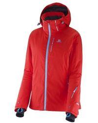 Salomon Odysee GTX Jacket W 363774 - Rojo