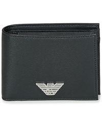 Emporio Armani Portemonnee Business Bi Fold Wallet - Zwart