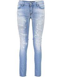 Roberto Cavalli S04LA0118 N31398 femmes Jeans en Autres - Bleu