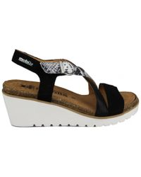 Mephisto - Violina Women's Sandals In Black - Lyst