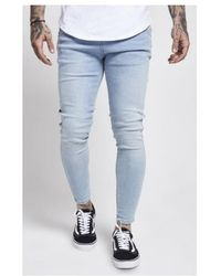 SIKSILK Jean skinny 13003 Jeans - Bleu