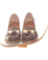 Marc Jacobs Paire De Chaussures Plates 38 Ballerines - Multicolore
