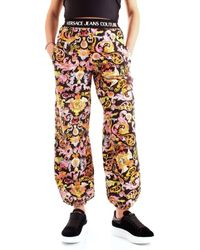 Versace Jeans Couture Pantalón chandal A1HWA106WDP320 - Negro