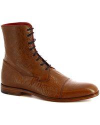 Leonardo Shoes Laarzen 310 V. Marrone - Bruin