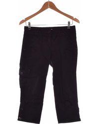 Promod Pantacourt Femme 36 - T1 - S Pantalon - Noir