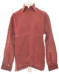 Burton Chemise Manches Longues 40 - T3 - L Chemise - Rouge