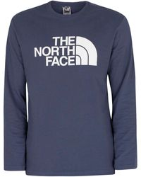 The North Face T-shirt à manches longues Half Dome T-shirt - Bleu