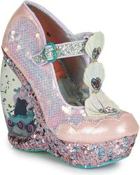 Irregular Choice Pumps Make A Splash - Roze
