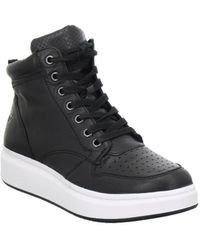 Tamaris - Louis Women's Shoes (high-top Trainers) In Black - Lyst