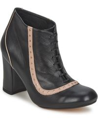 Sarah Chofakian Low Boots Salut - Zwart