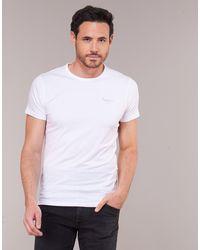 Pepe Jeans Camiseta BASIC NOS - Blanco
