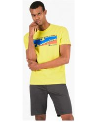 Champion - T-shirt Korte Mouw - Lyst