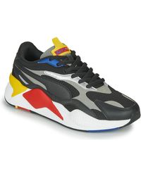 PUMA Lage Sneakers Rs-x3 - Zwart