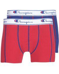 Champion Uni X2 Boxer Shorts - Blue