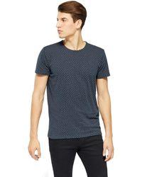Solid KARRSON T-shirt - Bleu